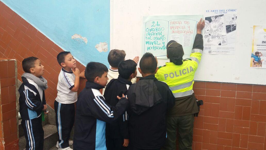 La policia orienta sobre responsabilidad penal en Ipiales