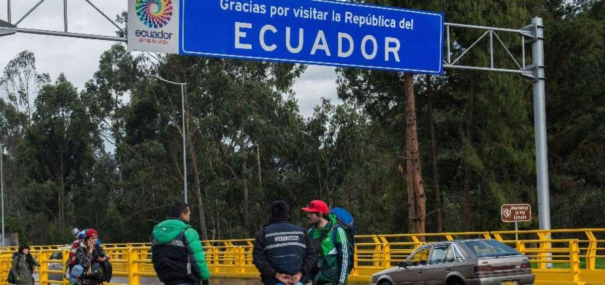 Las autoridades de Ecuador controlan ingreso de migrantes indocumentados