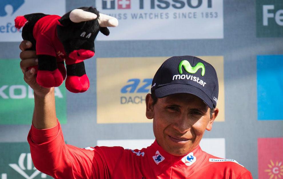 Nairo Quintana buscará defender la camiseta roja en la contrarreloj.