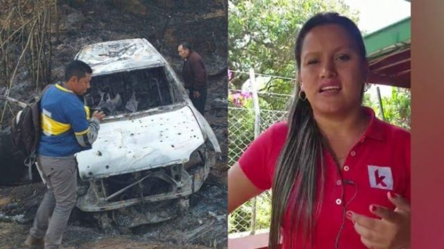 Se busca a los responsables del asesinato de la candidata a la alcaldía de Suarez