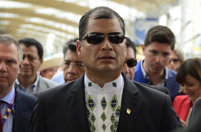 Tribunal de Ecuador ratificó la orden de prisión contra Rafael Correa