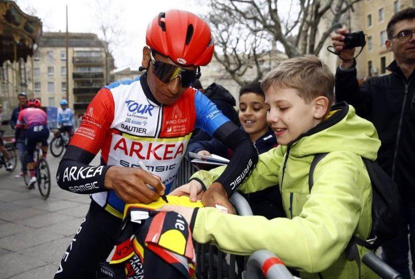 Nairo Quintana consiguió un nuevo titulo en su carrera deportiva