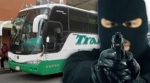 Bus de transporte Interdepartamental fue asaltado en el Cauca