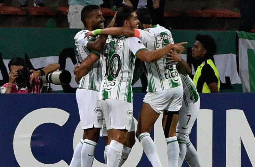 Nacional goleo en copa Sudamericana