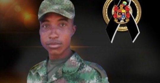 En ataque de disidencias murió un soldado Tumaqueño