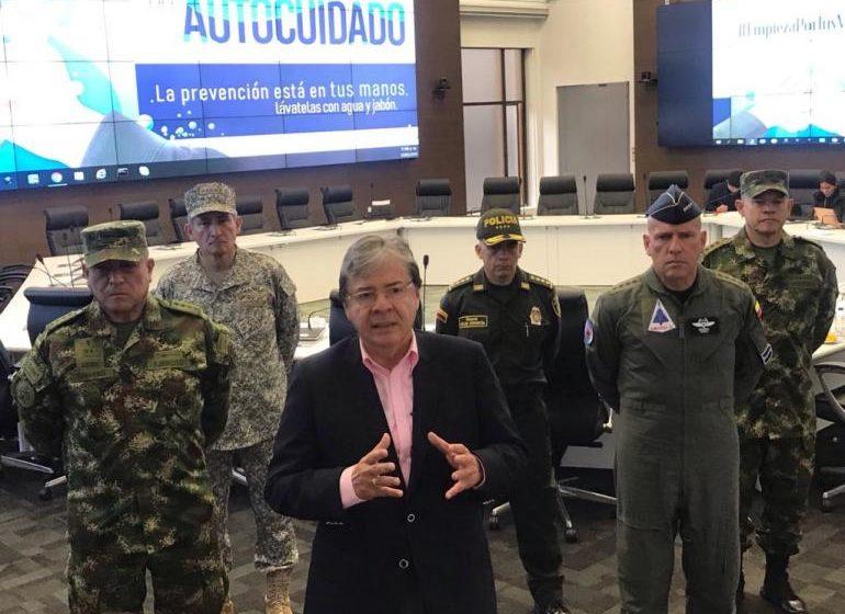 Fuerza Pública garantiza el cumplimiento de medidas ante el Covid-19