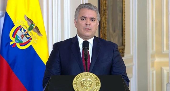 Presidente IvanDuque pide calma y no llamar asesinos a todos los policías