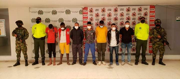 Ejercito capturo a integrantes de los contadores en Tumaco
