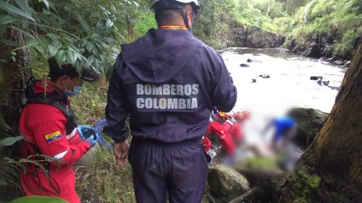 Cuerpo sin vida fue rescatado en el rio Guaitara