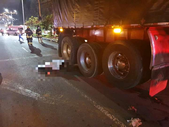 Dos personas murieron en un tragico accidente