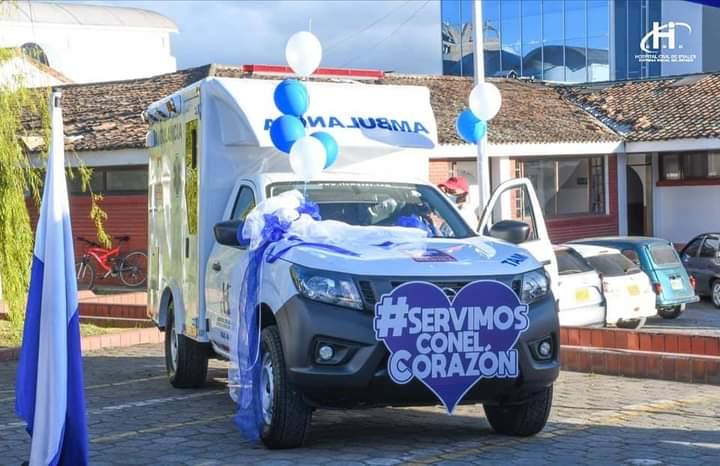 Hospital civil de Ipiales cuenta con nueva ambulancia