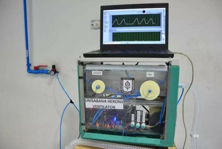 Ventiladores mecánicos colombianos están en la última fase de prueba
