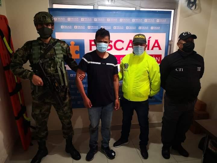 Judicializado presunto responsable del asesinato de dos policias en Cumbal