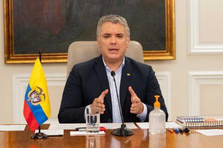 Presidente Iván Duque anunció medidas de bioseguridad para Semana Santa.