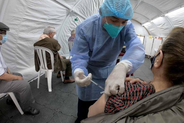 Los cinco departamentos con el mayor número de colados en la vacunación anticovid