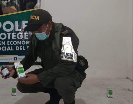 Medicamentos para veterinario han sido decomisados por la Polfa en Nariño