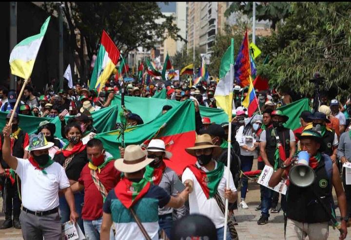 Indígenas del Cauca se mantendrán en huelga indefinida