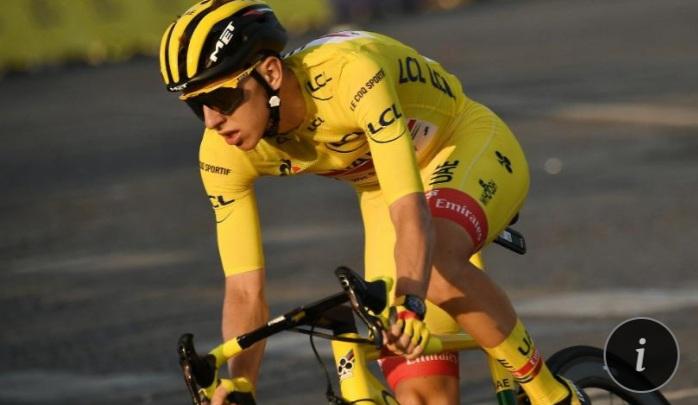 Pogacar se proclamó en París como el nuevo rey del Tour de Francia