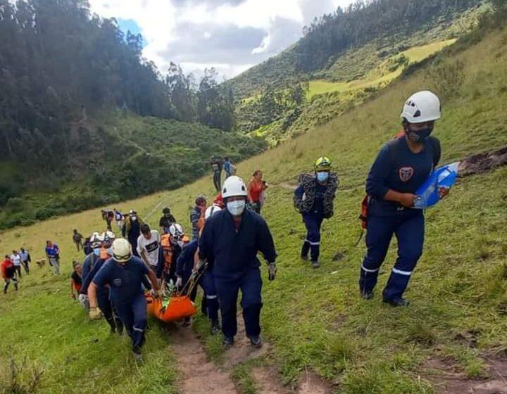 Rescatan cadaver de aguas del Rio Guaitara