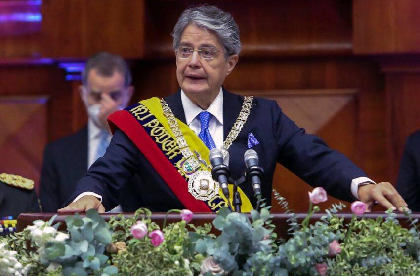Guillermo Lasso asumio presidencia en Ecuador
